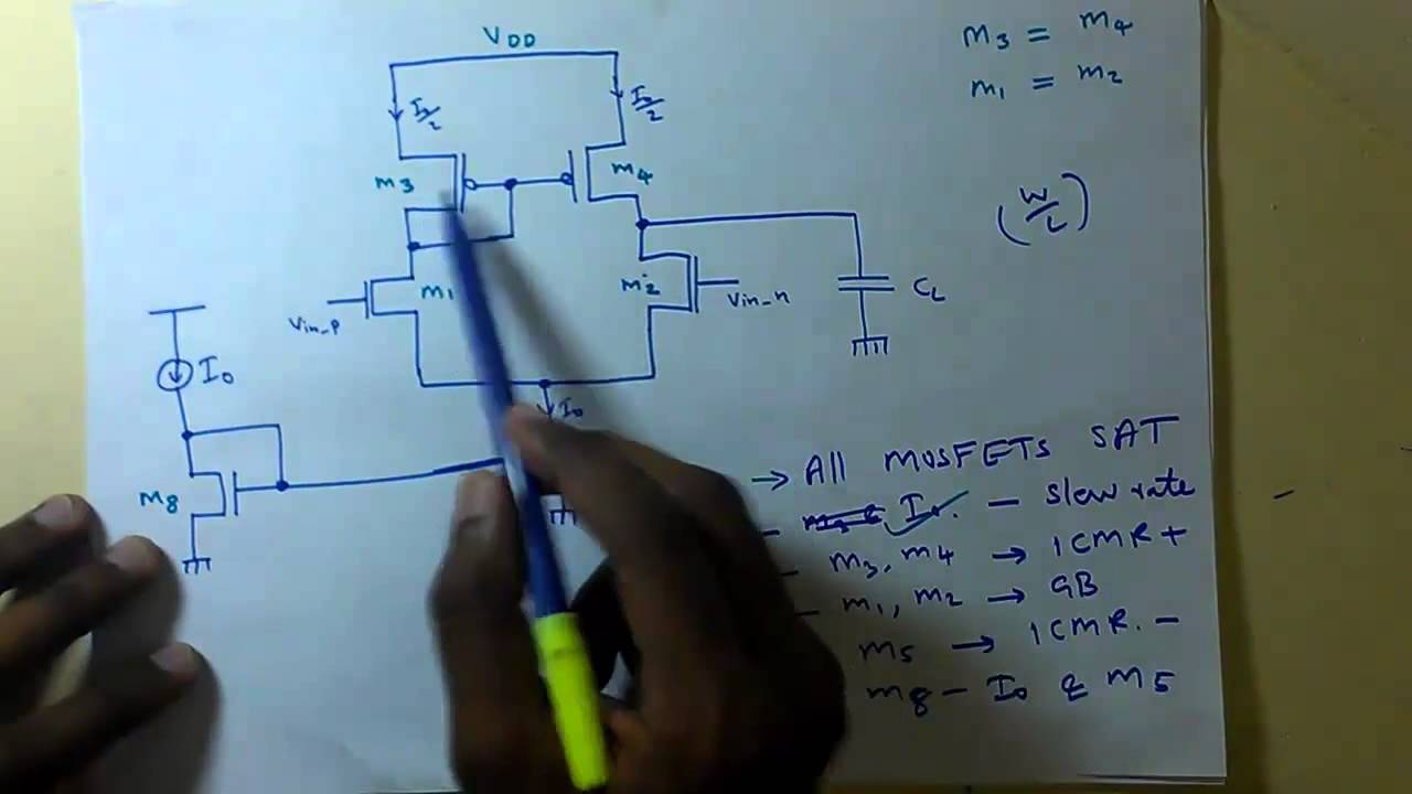 cadence tutorial : Operational amplifier design in cadence Part 1b