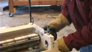 Woodmaster Planer/molder With Gary Striegler (part 5)