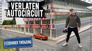 we vonden een VERLATEN AUTOCIRCUIT..! (Oud formule 1 racebaan)