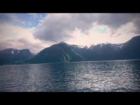 Norne 3 på tur gjennom Sognefjorden