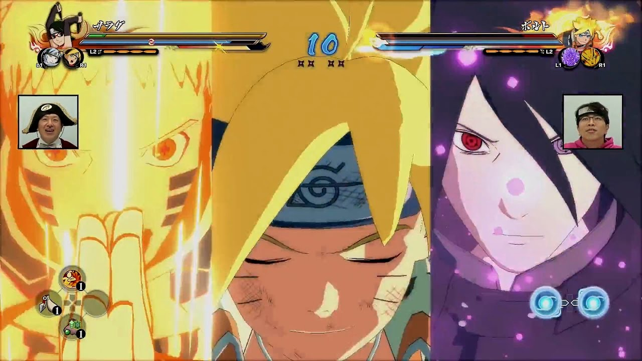 ROAD TO BORUTO - Hokage Naruto x New Team Ultimate Jutsu's Gameplay |  Naruto Ultimate Ninja Storm 4