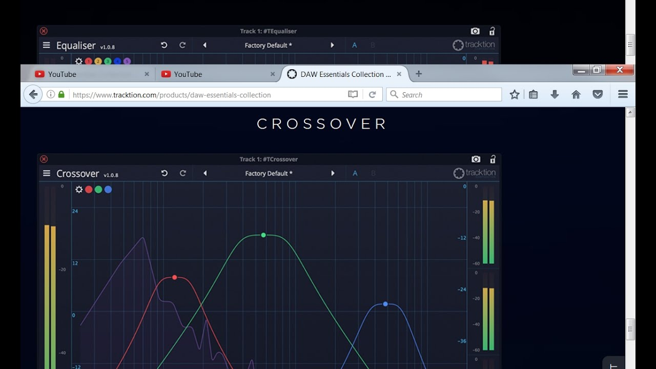 Tracktion Daw Essentials TCrossover