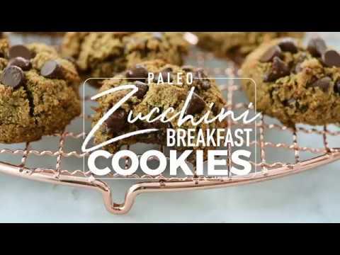 Paleo Zucchini Cookies (Breakfast Cookies)
