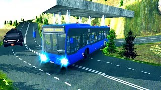Euro Off Road Bus Driving: 3D Simulation - Android Gameplay FHD