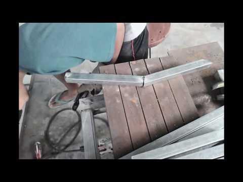 homemade metal babycrib pt 2 (finishing)