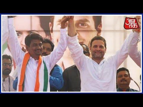 Rahul Gandhi In Gandhinagar Live Updates