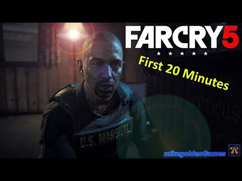 US Marshals - Far Cry 5 First Mission (The Warrant)