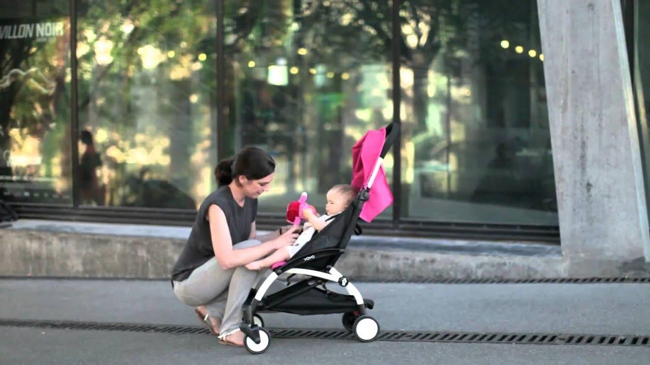купить летнюю коляску трость - YouTube