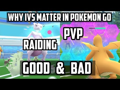 Why/When IVs Matter In Pokemon Go! Raiding and PVP - YouTube