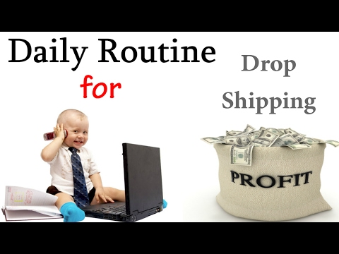 Daily Routine Drop Shipping on eBay to Maximize Drop Shipping Profits on ebay.com and ebay uk