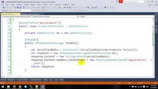 CRUD using ASP.NET Web API and Entity Framework with MVC Architecture in AngularJS - Part 1