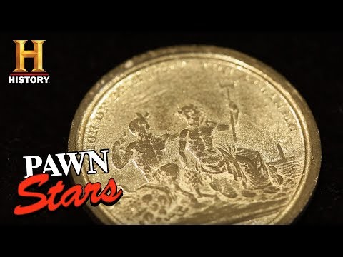 Pawn Stars: 1826 Erie Canal Completion Medal (Season 14) | History