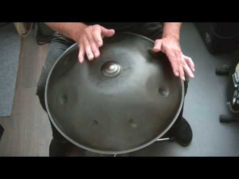 Hang/Handpan Tutorial for Beginners - Lesson 3 (of 10) Independence Pattern