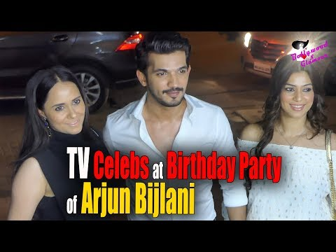 TV Celebs at Birthday Party of Arjun Bijlani