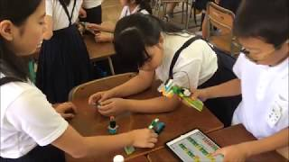 レゴ®WeDo2.0小学校授業動画(大阪市立苗代小学校)