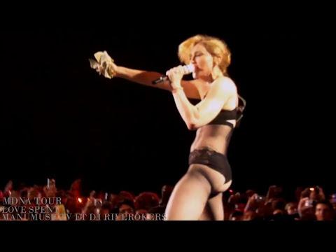 Madonna Love Spent (NEW) MDNA Tour EUROPE Bluray BONUS