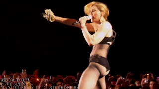 Madonna Love Spent (NEW) MDNA Tour EUROPE Bluray BONUS