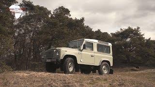 Trailer: Exklusive Charity-Versteigerung des letzten Land Rover Defender Heritage