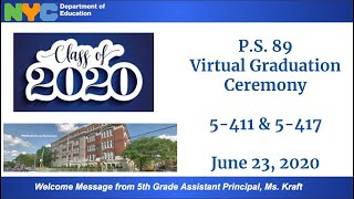 P.S. 89 Graduation 411/417