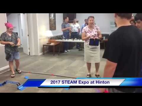 2017 STEAM Expo at Hinton Center: These Kids are the Future