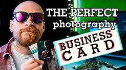 The perfect PHOTOGRAPHY BUSINESS CARD | Market yourself | Freestyle