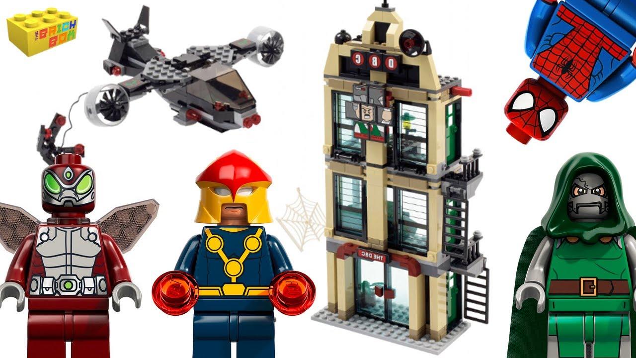 Lego Nova 76005 Super Heroes Ultimate Spider-Man Minifigure