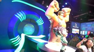 D23 Expo: Ralph Breaks the Internet Disney Animation Display and Preview