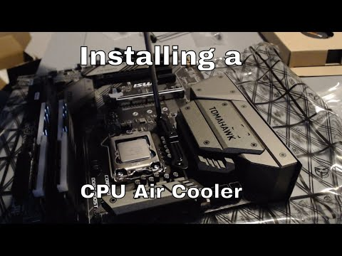 How to install a CPU cooler! - A short(ish) guide