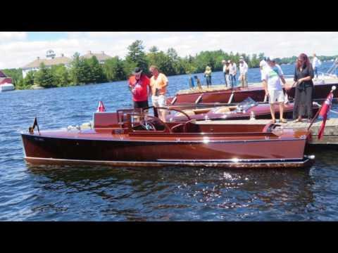 Antique & Classic Boat Show, Gravenhurst 2017