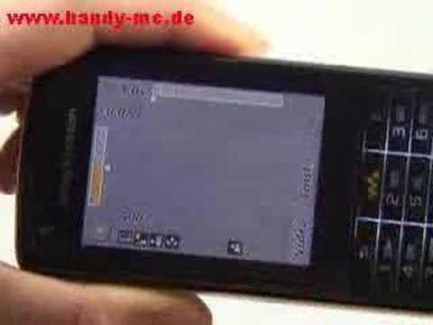Sony-Ericsson W960i Kamera