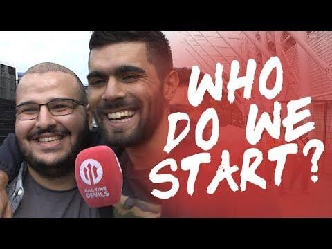 Who Do We Start? | Swansea City 0-4 Manchester United | FANCAM