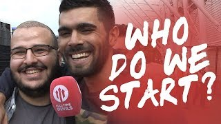 Who Do We Start? | Swansea City 0-4 Manchester United | FANCAM thumbnail