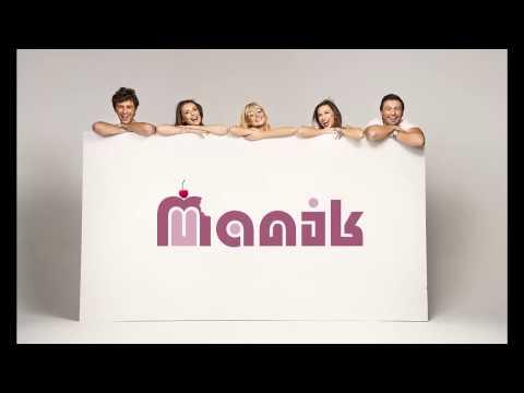 Разработка логотипа MANIK