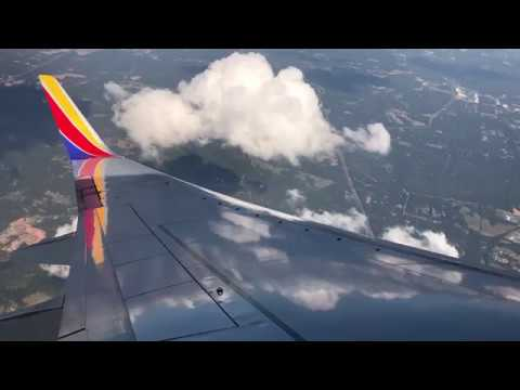 Southwest 737-700 Takeoff From Atlanta Hartsfield-Jackson Airport
