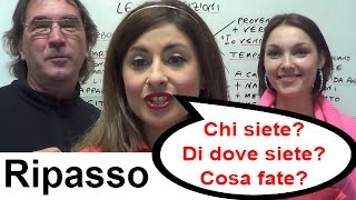 One World Italiano Lesson 12 (in English) - Elementary Level (A1)
