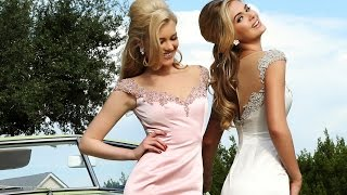 Sherri Hill 32130 Prom Dress | Mermaid Silhouette Cap Sleeves Sheer Decolletage