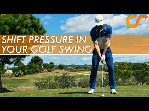 HOW TO SHIFT PRESURE IN YOUR GOLF SWING