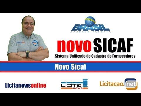 Novo Sicaf - Vídeo Explicativo