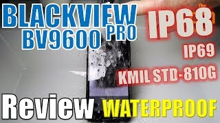 Blackview BV9600 Pro : Waterproof & Sound  Test - IP68 Helio P60 - (...