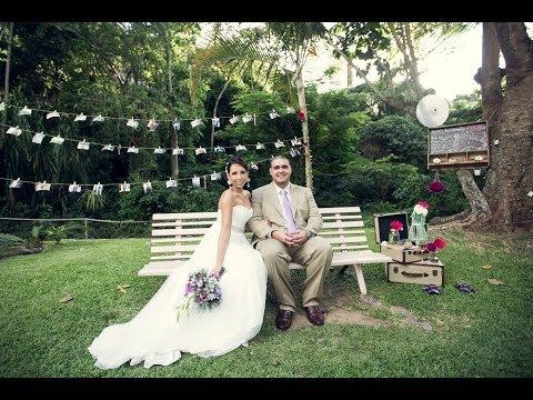 Perfecta boda de jard n boda gordo y mariale youtube for Bodas en jardin