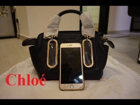 See by Chloe bag unboxing review with iPhone comparison ...