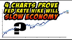 4 Charts Show Fed Interest Rate Increase Will Further Slow Economy!