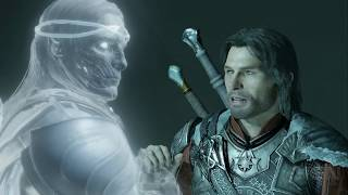 Shadow of War: Battling Creepy Forest Monsters in a Story Mission
