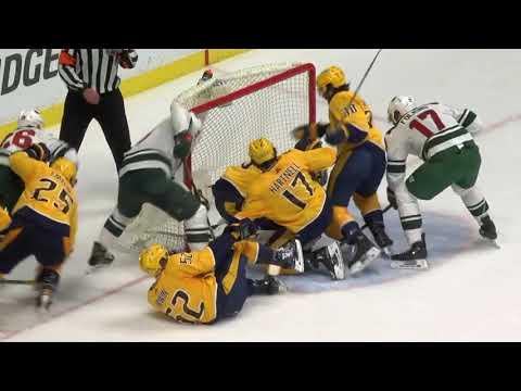 Minnesota Wild vs Nashville Predators - March 27, 2018 | Game Highlights | NHL 2017/18