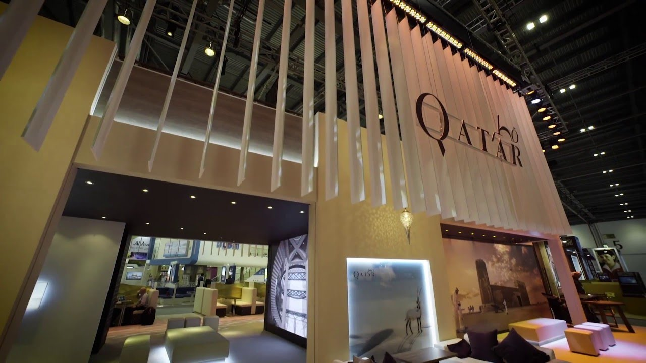 Sungard Exhibition Stand Qatar : Destination qatar exhibition stand development l وجهة