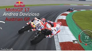MotoGP 17 Gameplay, Spielberg Austrian GP - Andrea Dovizioso, Ducati