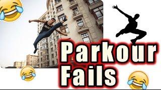 Funny Parkour Fails Compilation