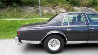 -79 Caprice Classic with single exhaust and Thrush welded muffler
