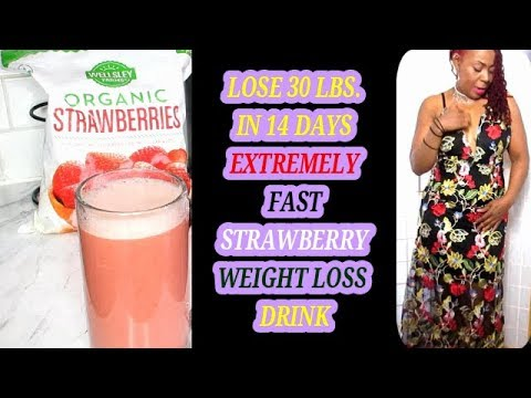 lose-30-lbs.-in-14-days-||-extremely-fast-strawberry-weight-loss-drink