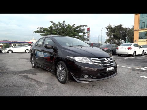 2012 Honda City 1.5E Start-Up and Full Vehicle Tour
